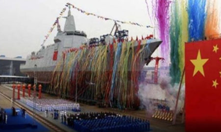 China, Launches, Missile Distan Sea