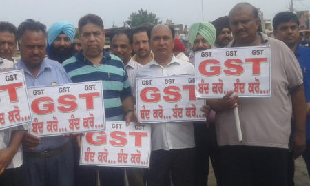 Protest, GST, Cloth Marchants