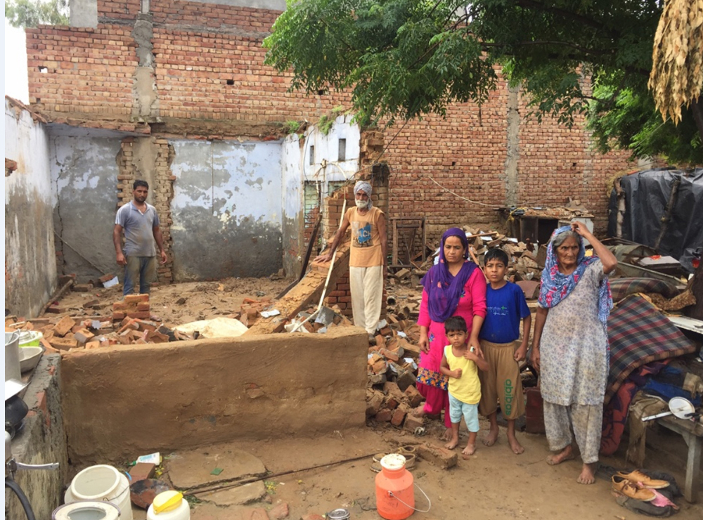 Rainfall, Poor, Families, Deprived,House