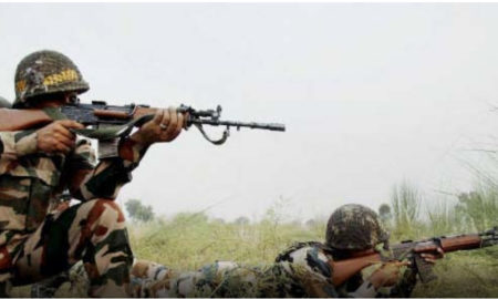 Indian Army, Reply Pakistan, Firing