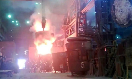 Accident, Iron faactory, Death, Laborer, top news