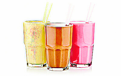 Colorful, Milk Shake, Health