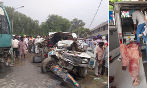 Road, Accident, Death, Five, People, Including, Driver, Bhog ceremony
