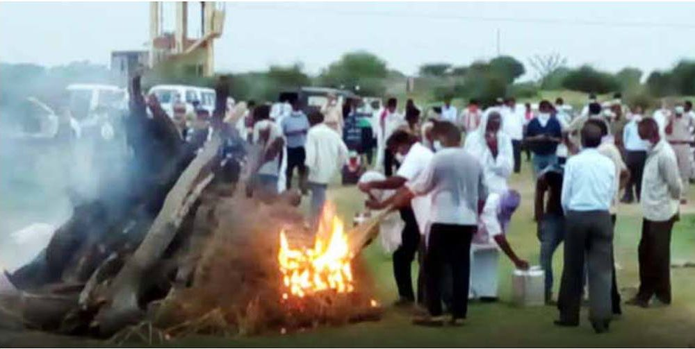Rajsthan Government, Forcefully, Funeral, Gangster Anandpal