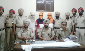 Three Accused, Arrested, Double, Murder, Case, Guruharsai, Punjab