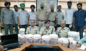 Gang, Members, Arrested, Bathinda, Police