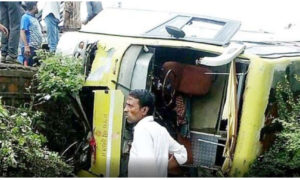 Nine Pilgrims, Killed, Bus, Accident