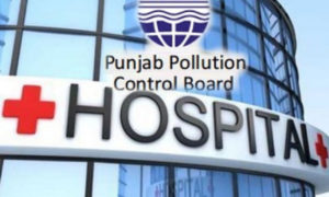 Pollution, Control, Board, Checking, State Hospitals, Punjab