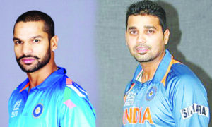 Team India, Sri Lanka, Tour,Dhawan, Replace, Injured  Murli, Sports