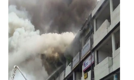 Dangerous, fire, 17 sector, Chandigarh, Fire Birgade