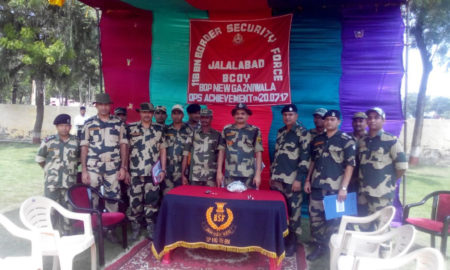 Heroin, Seized, Border Area Village, Gajaniwala, BSF