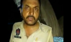 Police man, Abused, Public, Wine, Drunk, Video Viral