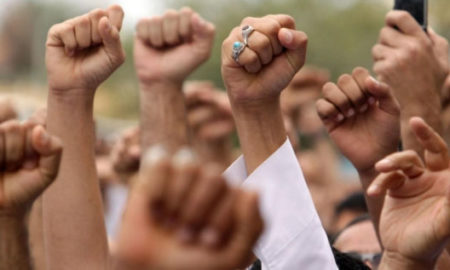 Protest, Against, Government, CPI