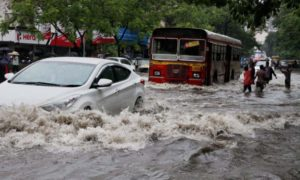 Heavy, Rain, Mumbai, Traffic, Affected