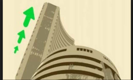 Sensex, New, Peak, Nifty, Crossed 9800