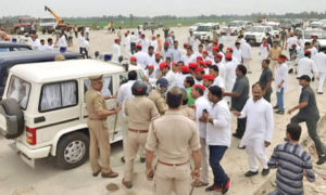 UP, Police, Akhilesh Yadav, Custody