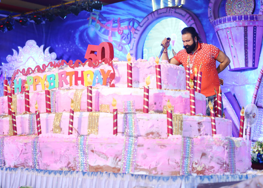 World's Biggest, Birthday Celebration, Gurmeet Ram Rahim, Dera Sacha Sauda