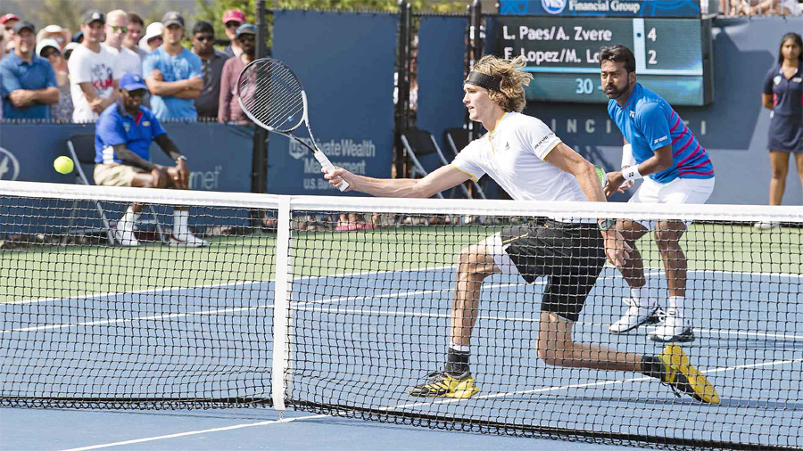 Cincinnati Open Tannis, Leander Paes, Alexander Zverev Lose, Tournament, Sports