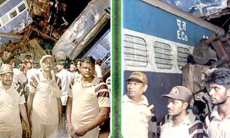 Green S Force, Helped, Relief Operations, Train Accident, Dera Sacha Sauda, Volunteer