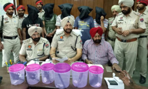 Punjab Police, Robbers, Weapons, Arrested, Robbery Planning