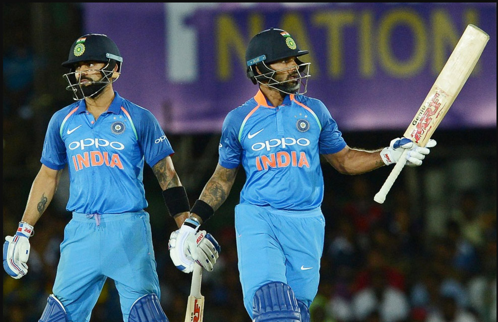 Cricket, INDVSL, Man of the Match, Shikhar Dhawan, Sports