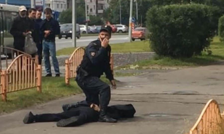 Russia, Terrorist, Attack, injured, Knife
