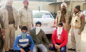 Young Men, Arrested, Heroin, Punjab Police