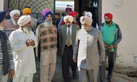 Disregarded case, Justice Ranjit Singh Commission, Visits, Villages, Patiala
