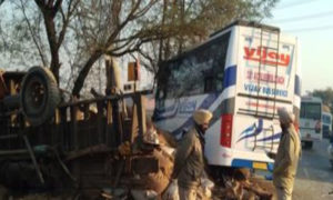 Dead Road Accident, Moga