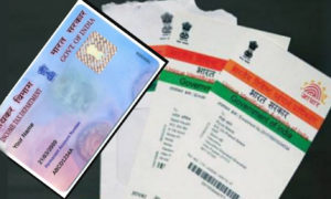 Adhaar Card, PAN Card, Link, Bank Account,Central Govt. Supreme Court