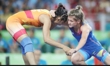 Gold Medal, Won, India,Commonwealth Wrestling, Championship, Sports