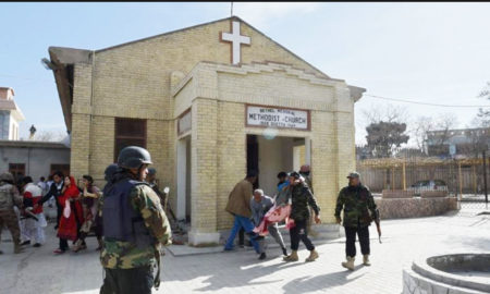 Terrorist attack,  Church, Quetta, Pakistan
