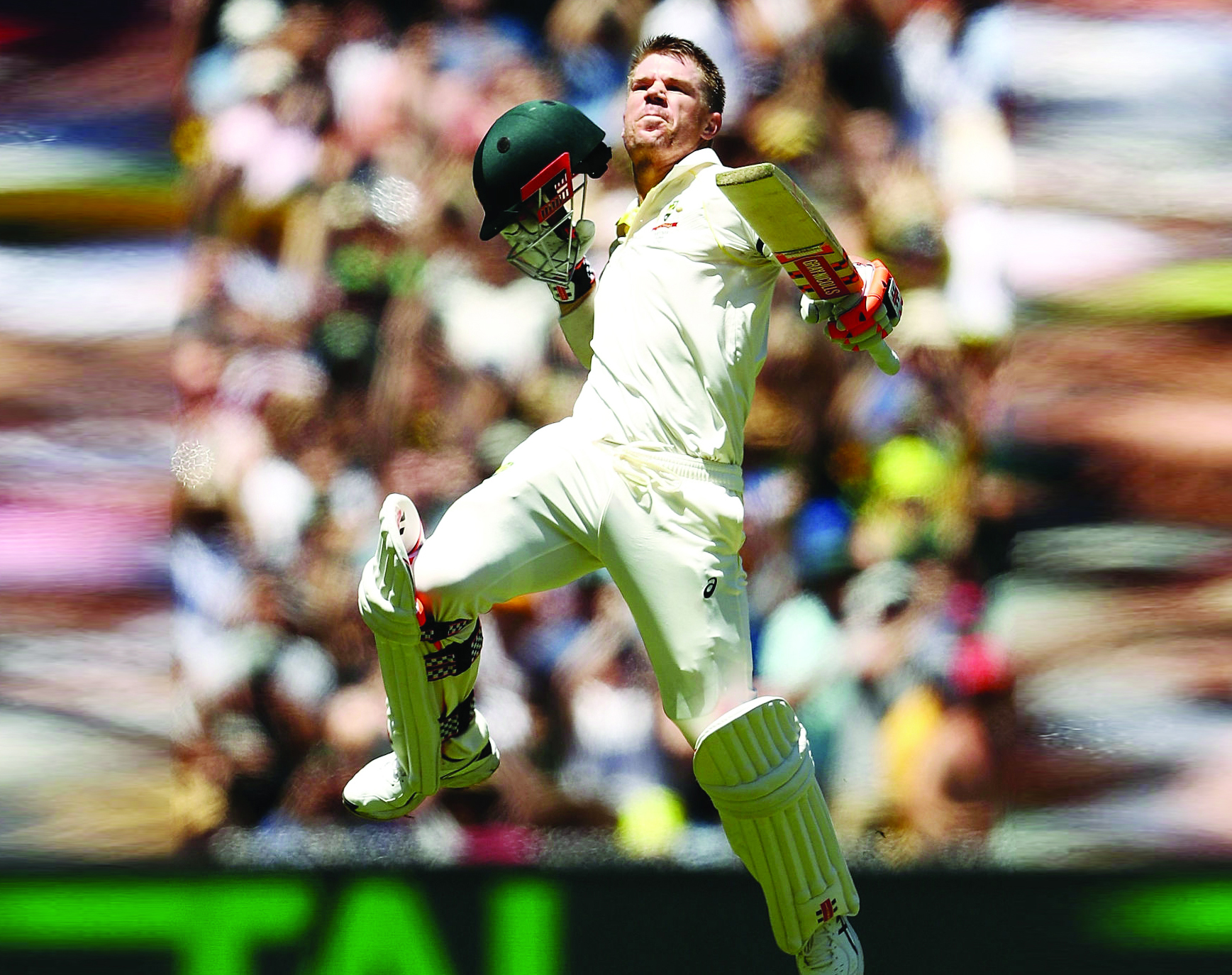 AshesSeries, Kricket, David Warner, Created, Century