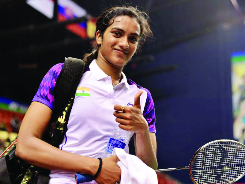 Bedminton Player, PV Sindhu, Chennai Thrilling, Win, Mumbai, sports