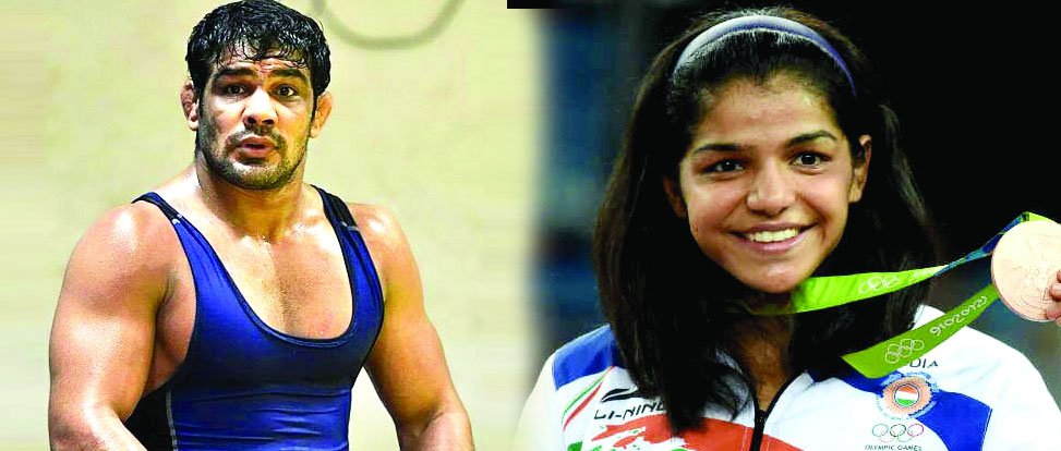 Sushil Kumar, Sakshi Malik,  Gold Medal, Commonwealth Games, Sports