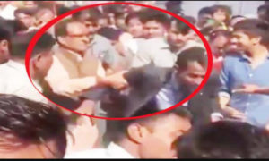 CM, Shivraj Singh Chouhan, Slapped, Security Guard, Road Show