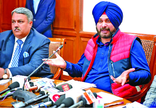 Release, Vision, Document, Cities, Culture, Navjot Singh Sidhu, Minister, Punjab