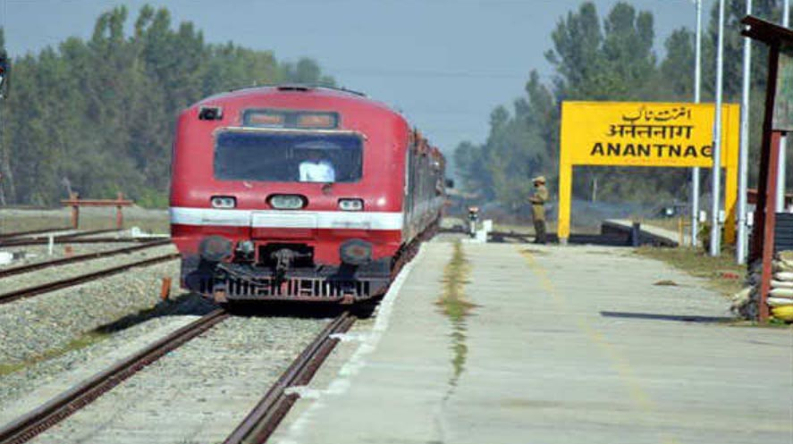 Canceling, Rail, Services, South Kashmir