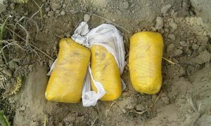 Before, STF, Three, Packet, Heroin, Seized, BSF, Case, Registered