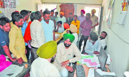 Chandumajra, Reached, Commission, Complaints
