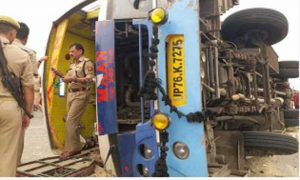 16 People, Killed, Bus, Accident, Mainpuri