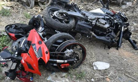 Two, Killed, Road, Accident,2Injured