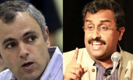 Oral War, Kashmir Issue, Omar, Ram Madhav