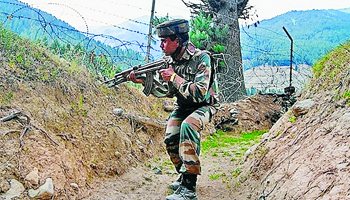 Encounter, Terrorists, South Kashmir