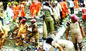 DERA SACHA SAUDA, GHAZIABAD BULIDING COLLAPSE, MISSION HUMANITY, SAINT DR. MSG, TOPNEWS, WELFARE WORKS
