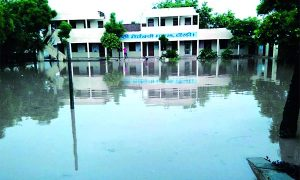 Government, School, Koli, Submerged, Water, Three, Days