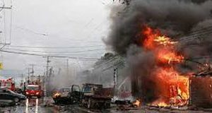 Van, Blast, Philippines, 10 Deaths