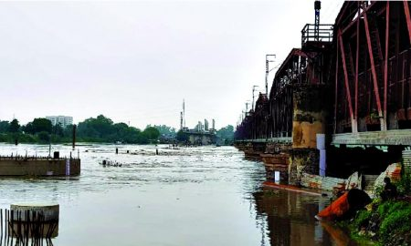 Yamuna ,Crossed, Danger, Mark, Delhi
