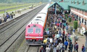 Train, Service, Kashmir, Restored