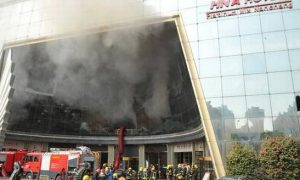 18 Dead, Fire, China Hotel